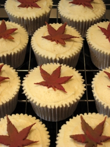 Maple Cupcakes with Maple Buttercream