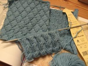 Kniited Squares Rowan Pure Wool