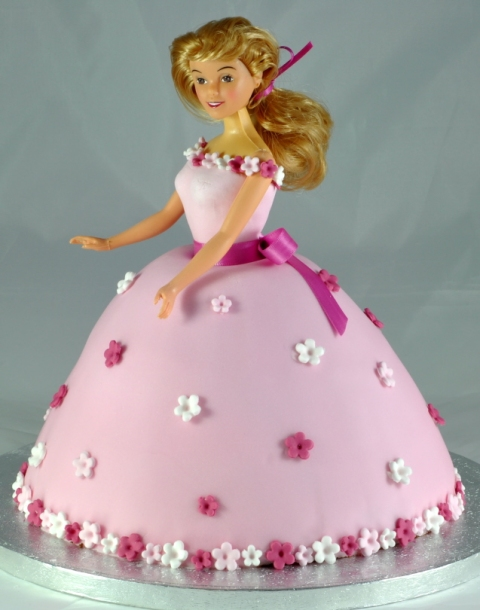 Princess Doll Cake from the sweet kitchen