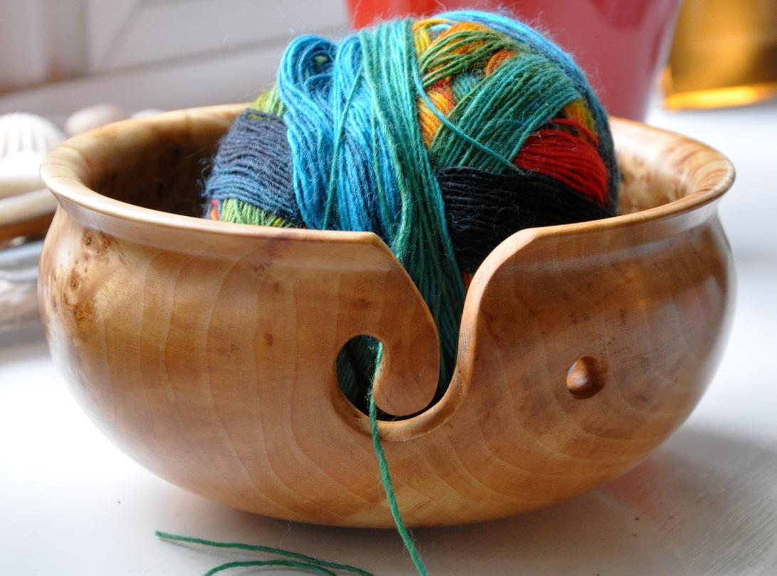 Knitting Bowl Uk : Yarn bowl from the sweet kitchen